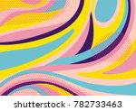 creative geometric colorful... | Shutterstock .eps vector #782733463