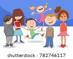 cartoon vector illustration of... | Shutterstock .eps vector #782746117