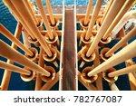 offshore construction platform... | Shutterstock . vector #782767087