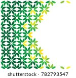 green leaf abstract background | Shutterstock .eps vector #782793547