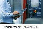 chief engineer  operator... | Shutterstock . vector #782843047