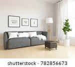 idea of a white scandinavian... | Shutterstock . vector #782856673
