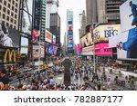 new york city  usa   circa june ... | Shutterstock . vector #782887177
