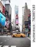 new york city  usa   circa june ... | Shutterstock . vector #782887183