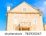 traditional stone house in... | Shutterstock . vector #782920267