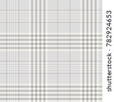 plaid check in pale grey  slate ... | Shutterstock .eps vector #782924653