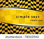 checkered background. eps10 | Shutterstock .eps vector #78310543
