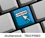 computer keyboard with mouse... | Shutterstock . vector #783195883