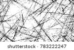scratch black and white... | Shutterstock .eps vector #783222247
