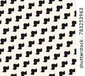 funky vector seamless pattern... | Shutterstock .eps vector #783253963
