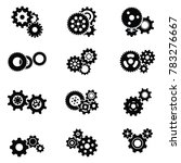 gears mechanic machine icon... | Shutterstock .eps vector #783276667