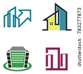 real estate and business symbol ... | Shutterstock .eps vector #783277873