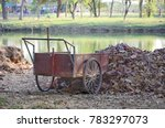 Old Cart In Park