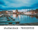 helsinki  finland. view of... | Shutterstock . vector #783320533