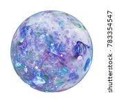fantastic world. abstract glass ... | Shutterstock . vector #783354547