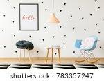 scandi small size furniture in... | Shutterstock . vector #783357247