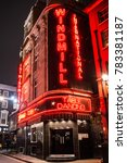 soho  london  england. 23rd... | Shutterstock . vector #783381187