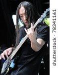 denver  june 14  bassist john... | Shutterstock . vector #78341161