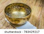 tibetan sound massage   Shutterstock . vector #783429217