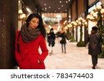 beautiful woman portrait... | Shutterstock . vector #783474403