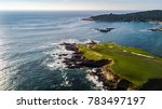 drone view of a golf course... | Shutterstock . vector #783497197