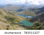 Two Beautiful Welsh Lakes. A...