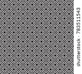 seamless oriental moroccan... | Shutterstock .eps vector #783511543