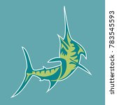 vector of fish   Shutterstock .eps vector #783545593