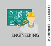 engineering illustration vector | Shutterstock .eps vector #783556657