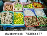 local indonesian market... | Shutterstock . vector #783566677