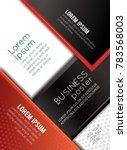 professional business design... | Shutterstock .eps vector #783568003