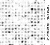 abstract halftone background.... | Shutterstock .eps vector #783610357