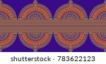traditional seamless indian... | Shutterstock . vector #783622123