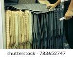 choose to buy rubber carpet.   Shutterstock . vector #783652747