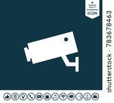 security camera icon | Shutterstock .eps vector #783678463