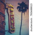 grungy motel restaurant bar...   Shutterstock . vector #783688813