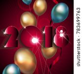 new year background | Shutterstock .eps vector #783699763