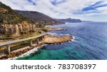 aerial view of famous sea cliff ... | Shutterstock . vector #783708397