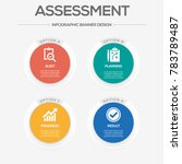 assessments infographic icons | Shutterstock .eps vector #783789487