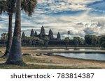 angkor wat in siem reap ... | Shutterstock . vector #783814387
