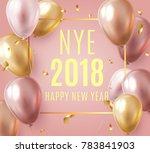 vector stock elegant pink... | Shutterstock .eps vector #783841903