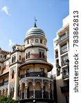 historic buildings and... | Shutterstock . vector #783862813