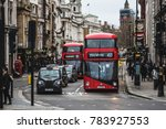 london  uk   december 24  2017  ... | Shutterstock . vector #783927553