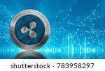 ripple coin  xrp ... | Shutterstock . vector #783958297