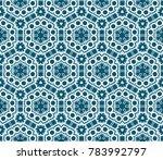 hipster background. geometric... | Shutterstock .eps vector #783992797