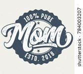 100 Percent Pure Mom   Tee...