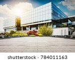 large modern office building | Shutterstock . vector #784011163