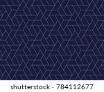 geometric grid with intricate... | Shutterstock .eps vector #784112677