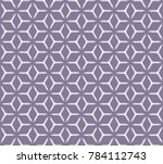 geometric grid with intricate... | Shutterstock .eps vector #784112743