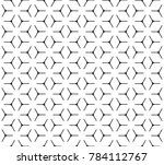 geometric grid with intricate... | Shutterstock .eps vector #784112767